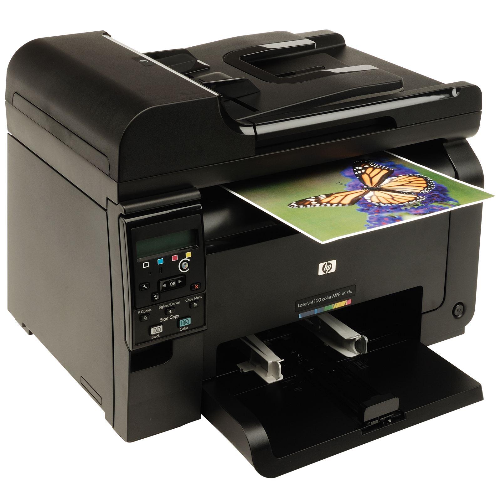 Принтер HP LaserJet Pro 100 color MFP M175a