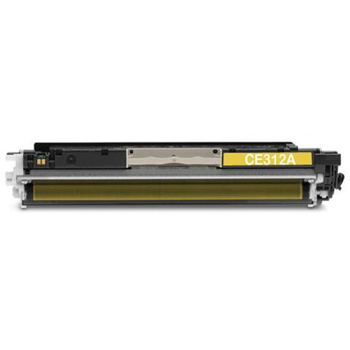 HP CE312A, 126A Yellow съвместима тонер касета