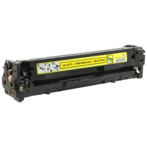 HP CB542A, 125A Yellow съвместима тонер касета