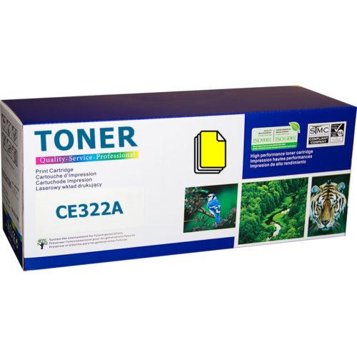 HP CE322A, 128A Yellow съвместима тонер касета
