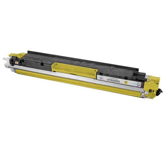 HP CF352A, 130A Yellow съвместима тонер касета