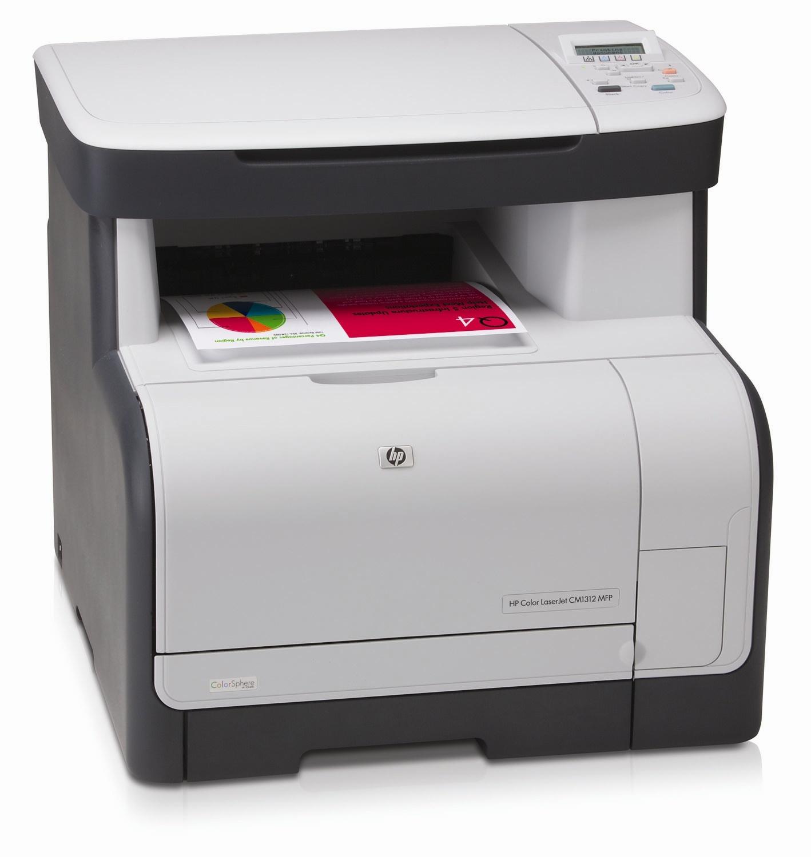 Принтер HP Color LaserJet CM1312 Multifunction Printer