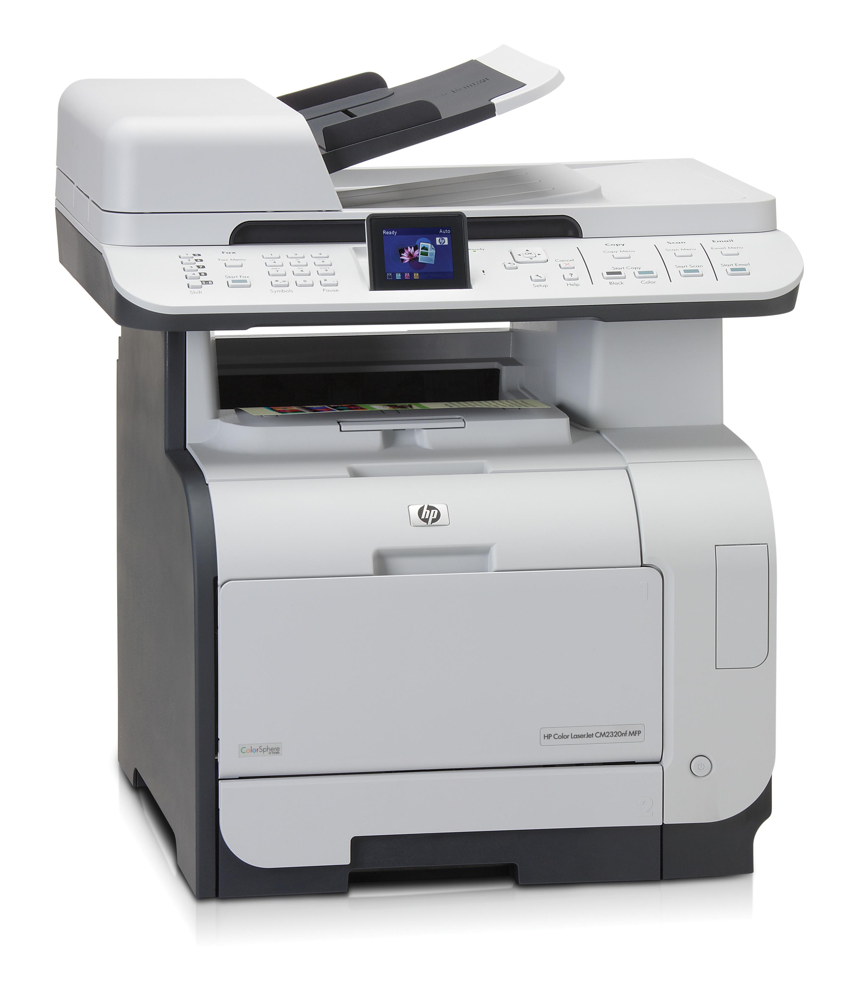 Принтер HP Color LaserJet CM2320nf Multifunction Printer