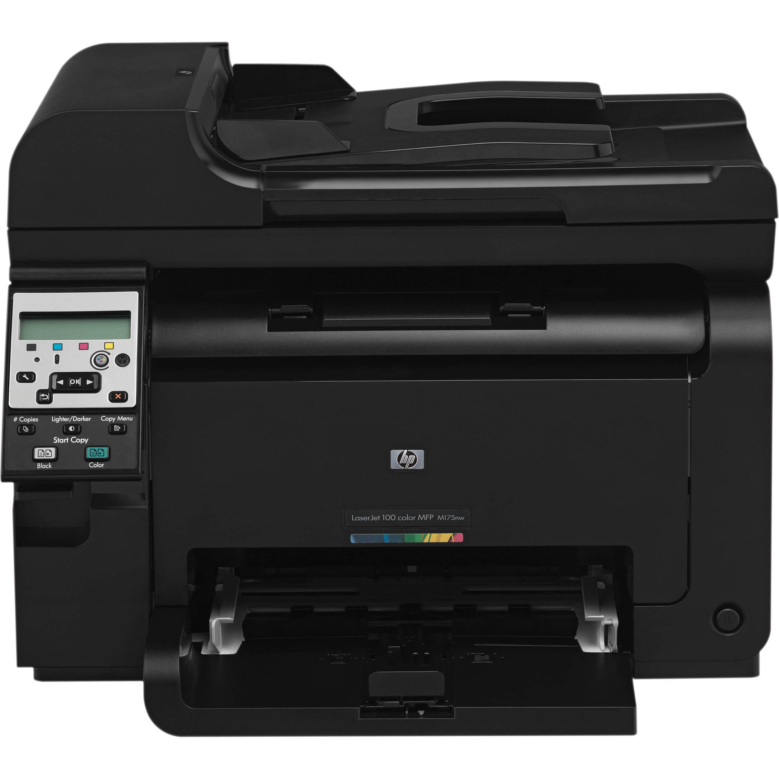 Принтер HP LaserJet Pro 100 color MFP M175nw