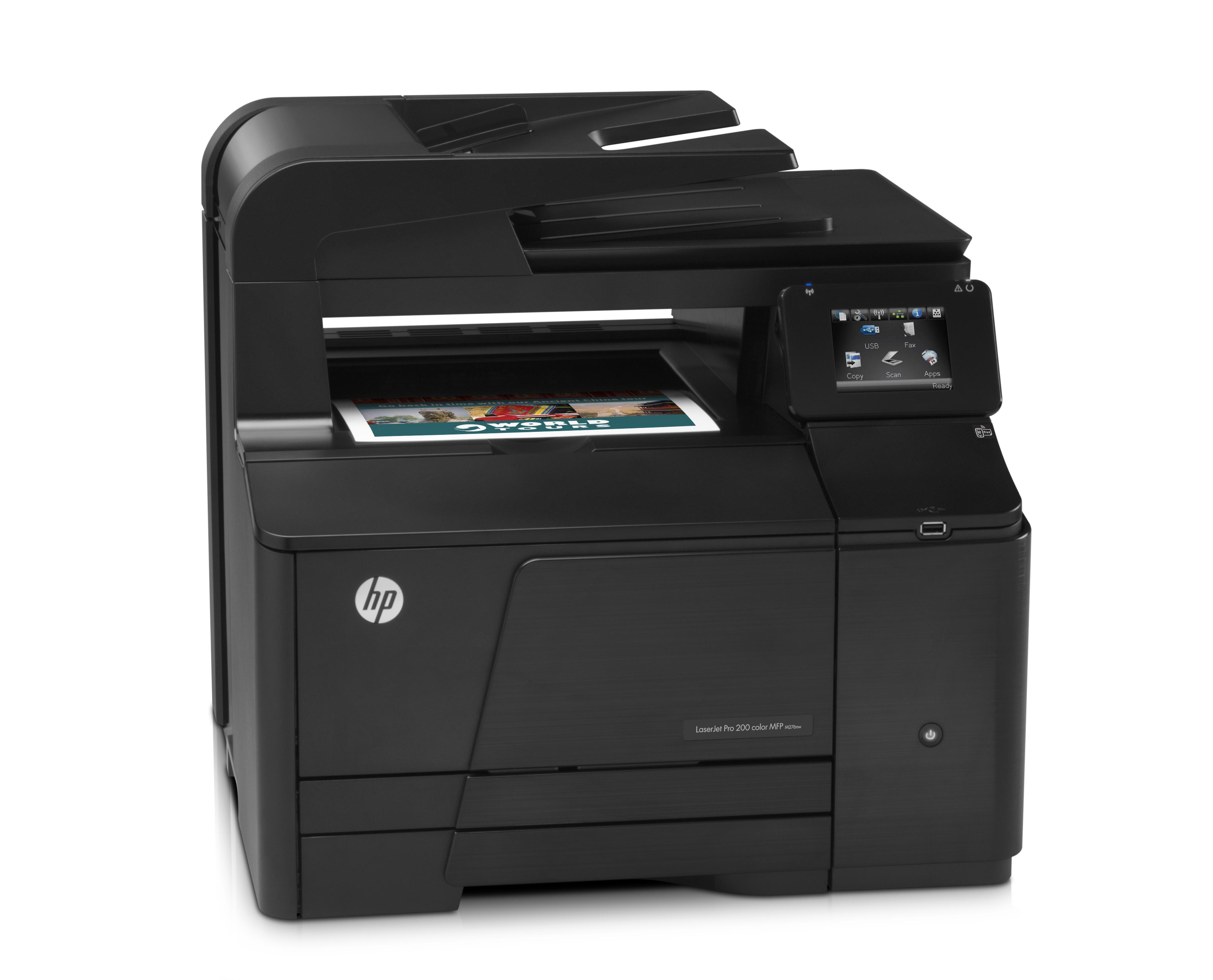Принтер HP LaserJet Pro 200 color MFP M276nw