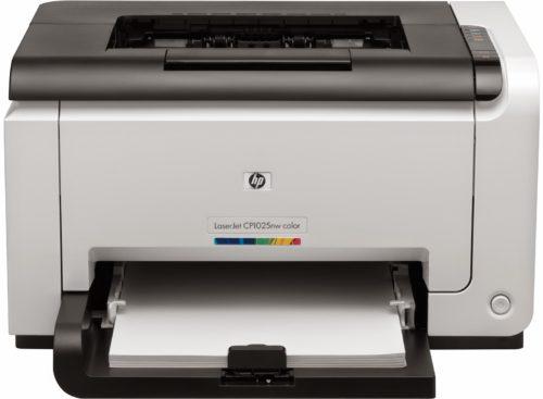 Принтер HP LaserJet Pro CP1025nw Color Printer