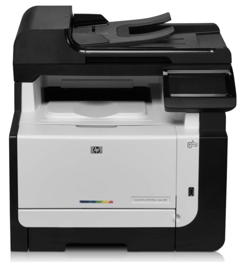 Принтер HP LaserJet Pro CM1415fnw Color Multifunction Printer
