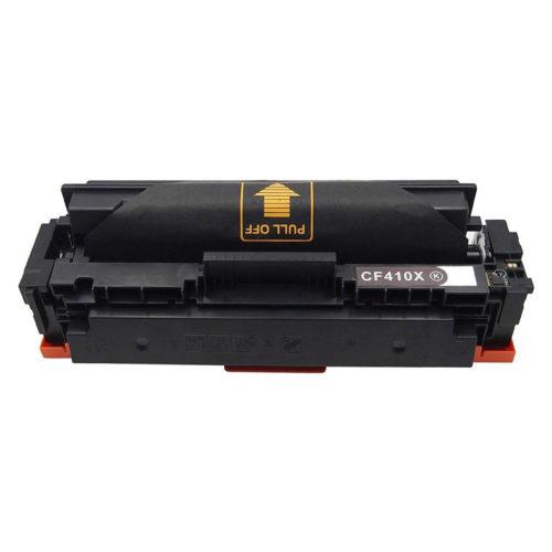 HP CF410X, 410X Black съвместима тонер касета