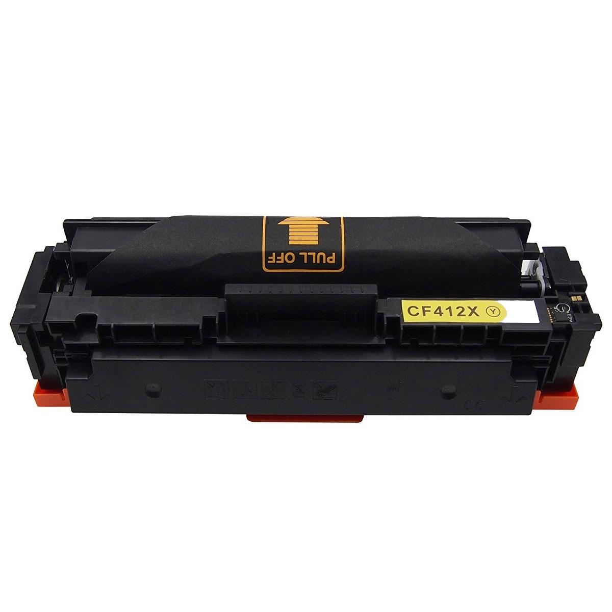 HP CF412X, 410X Yellow съвместима тонер касета