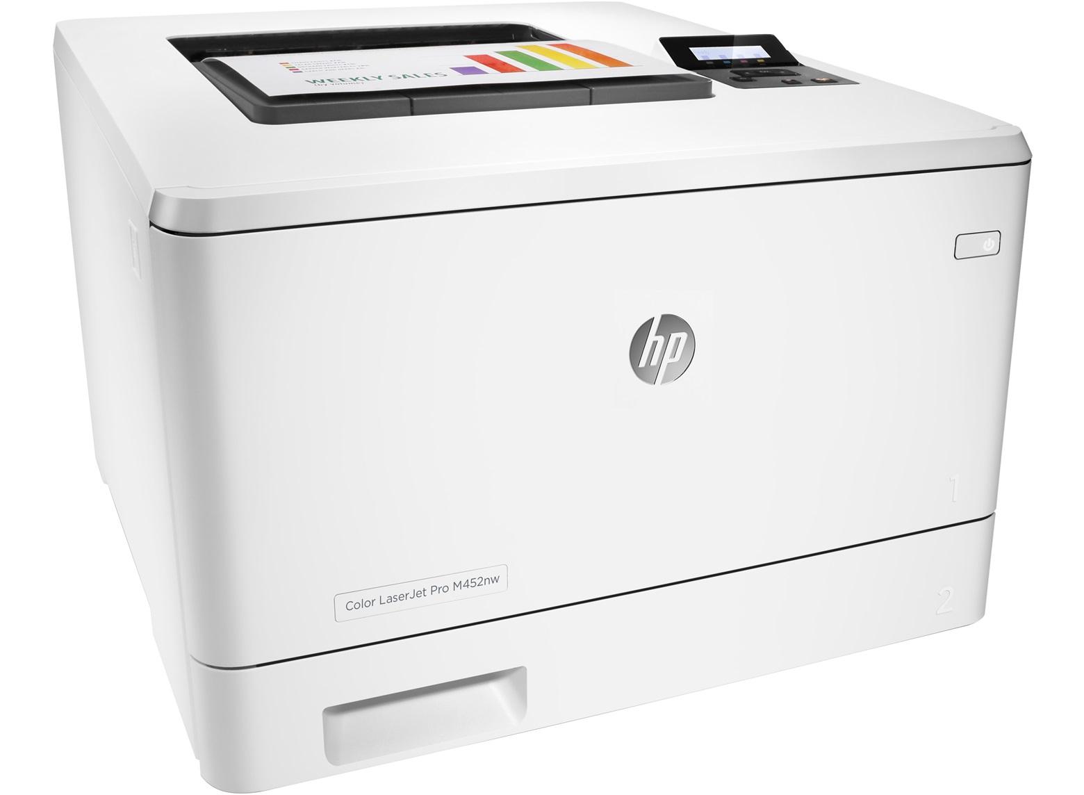 Принтер HP Color LaserJet Pro M452nw