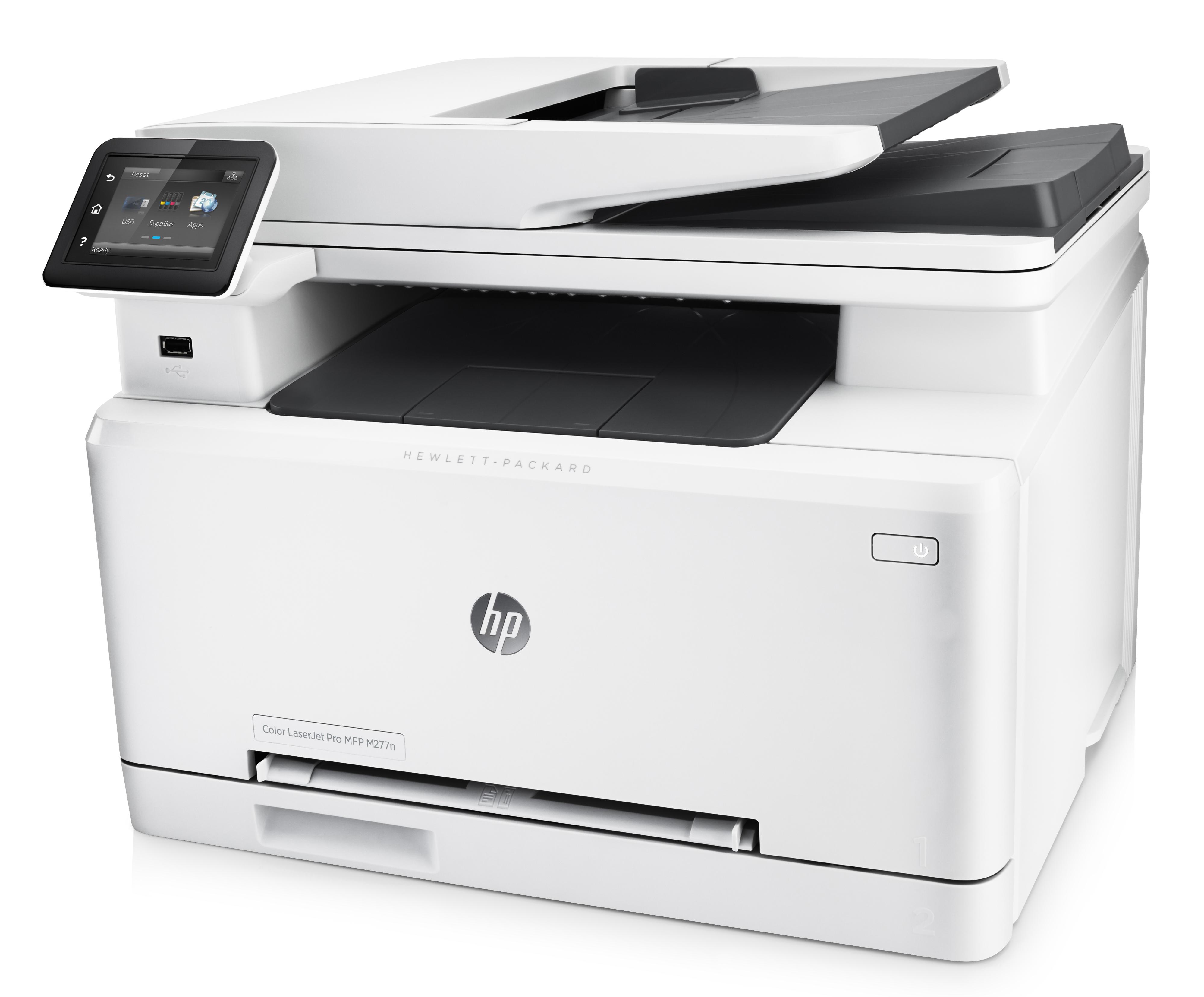 Принтер HP Color LaserJet Pro MFP M277n
