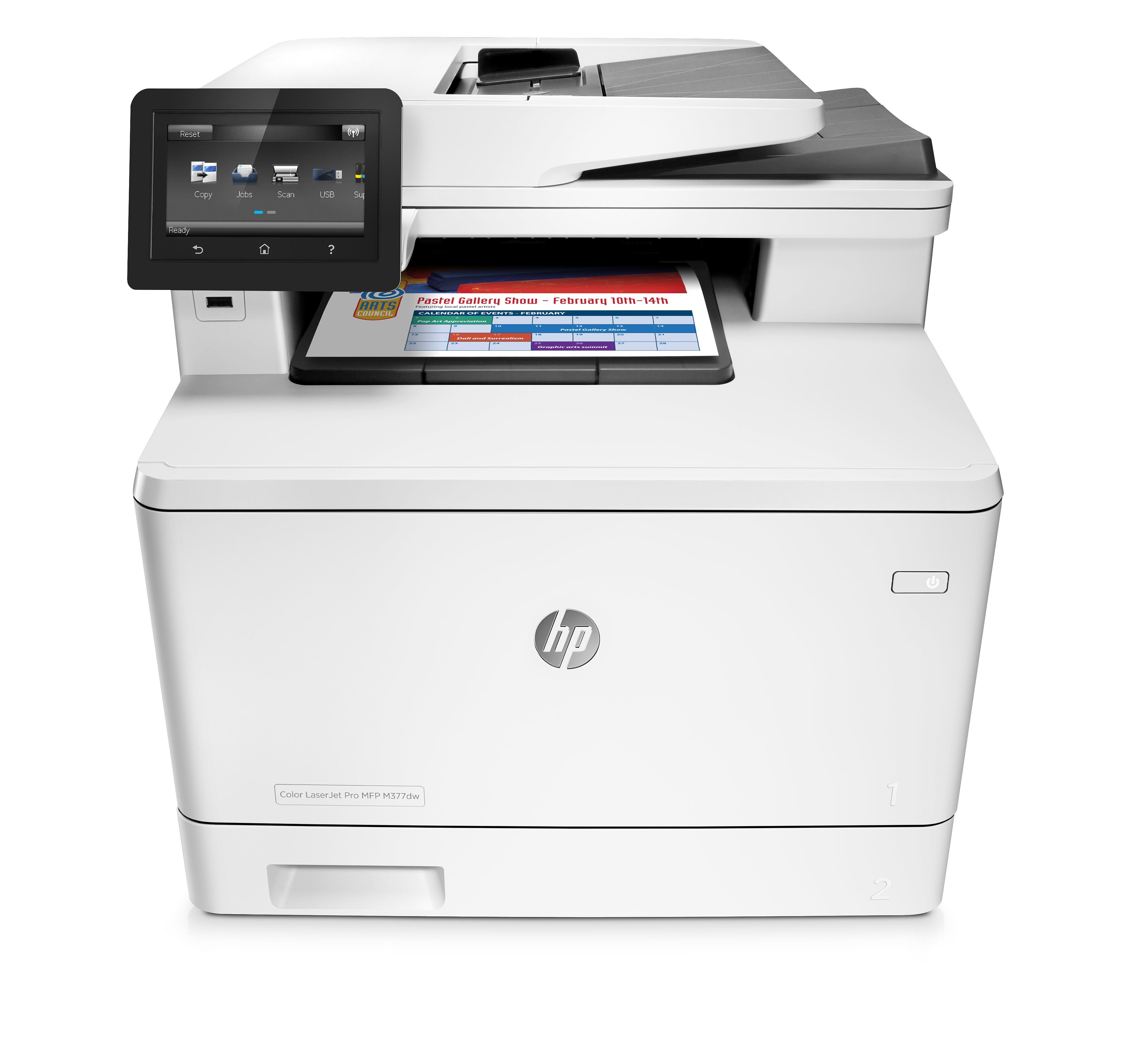 Принтер HP Color LaserJet Pro MFP M377dw