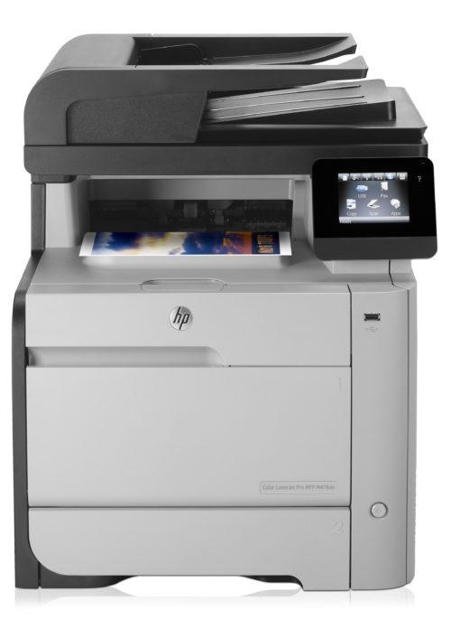 Принтер HP Color LaserJet Pro MFP M476dn