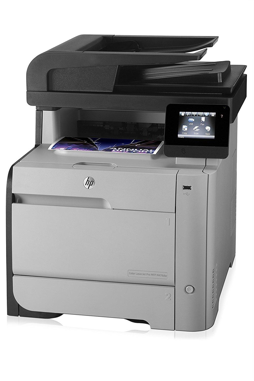 Принтер HP Color LaserJet Pro MFP M476dw