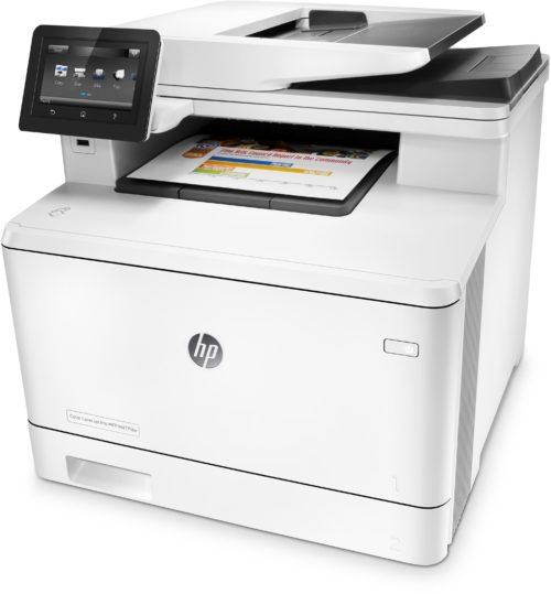 Принтер HP Color LaserJet Pro MFP M477fdw