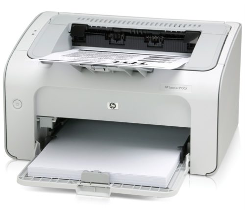 Принтер HP LaserJet P1005 Printer