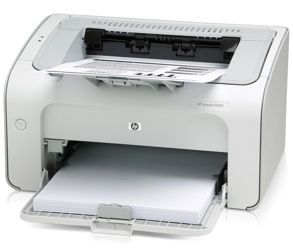 Принтер HP LaserJet P1005 Printer