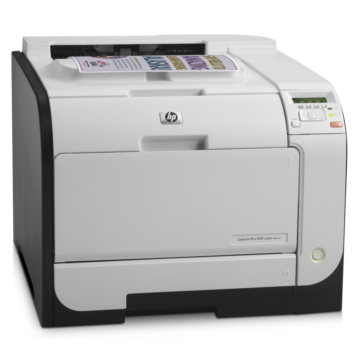 Принтер HP LaserJet Pro 400 color Printer M451nw