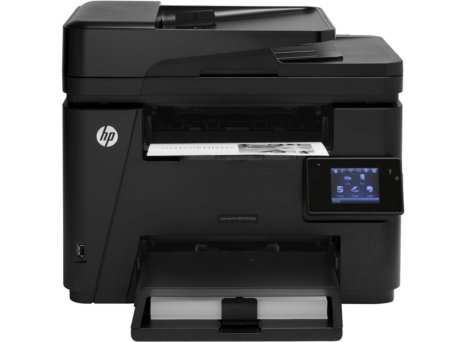 Принтер HP LaserJet Pro MFP M225dw