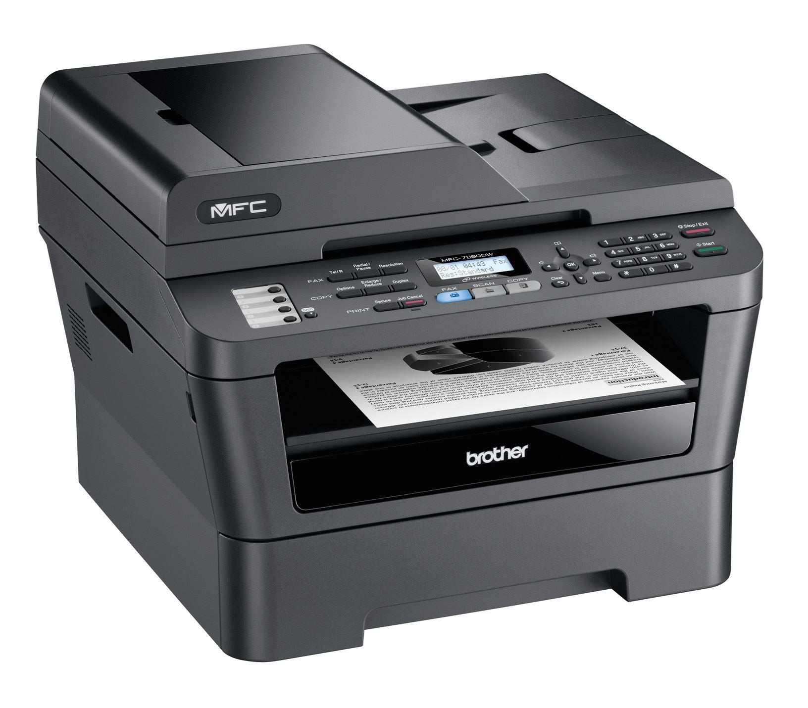 Принтер Brother MFC-7860DW