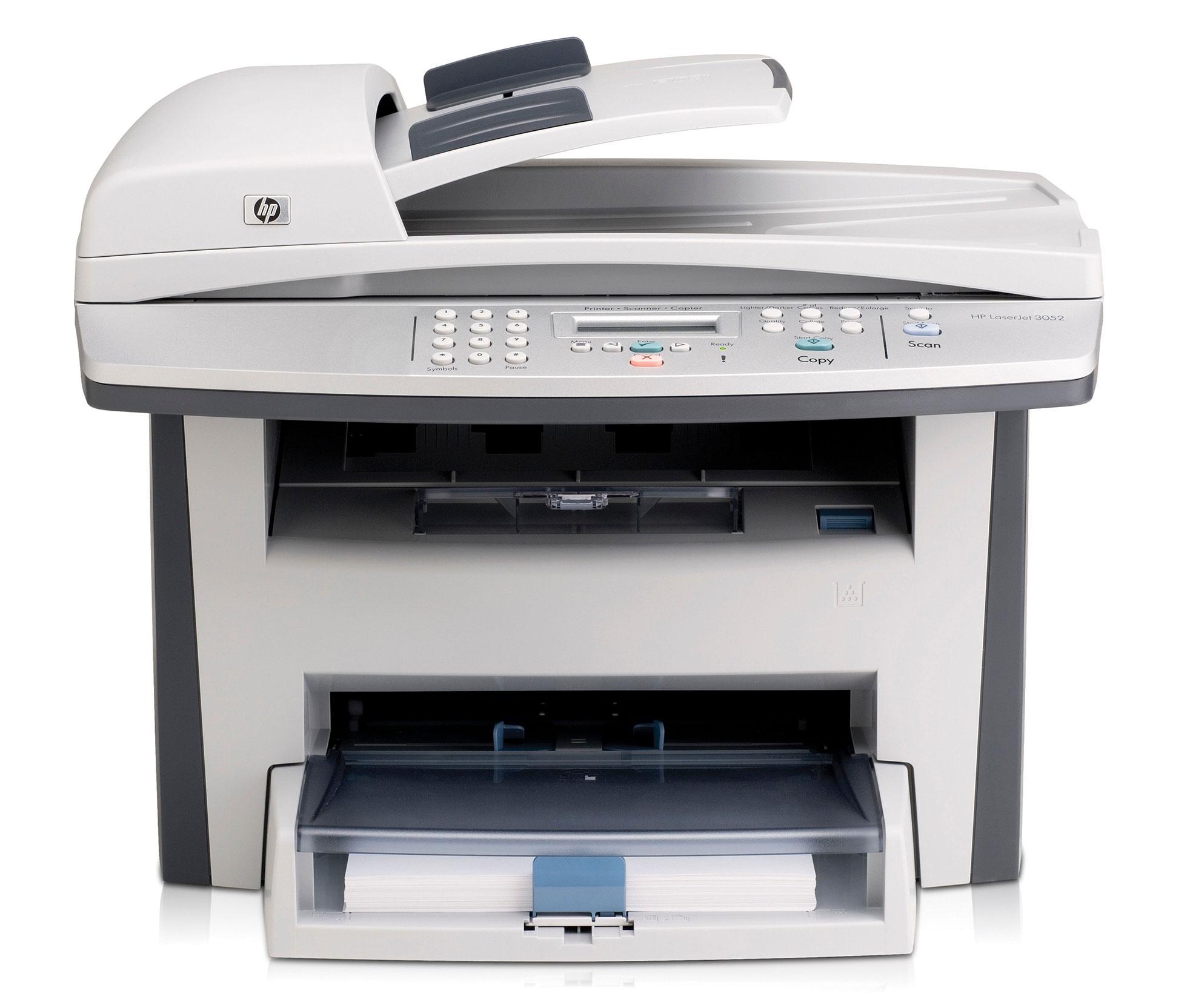 Принтер HP LaserJet 3052 All-in-One Printer