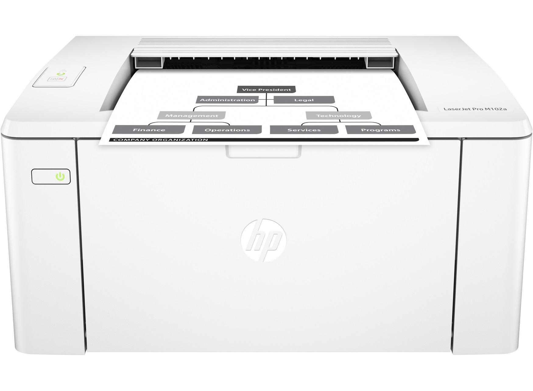 Принтер HP LaserJet Pro M102a Printer