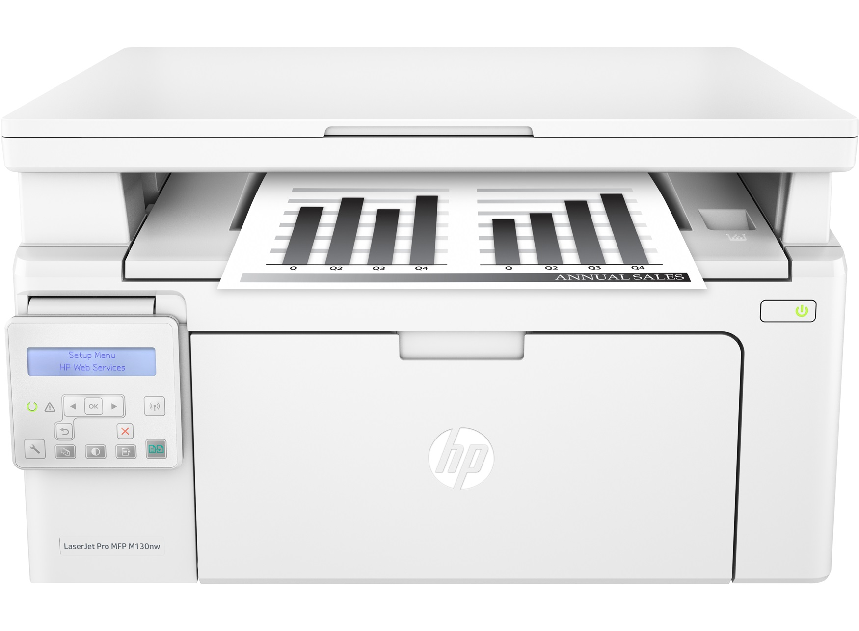 Принтер HP LaserJet Pro MFP M130nw