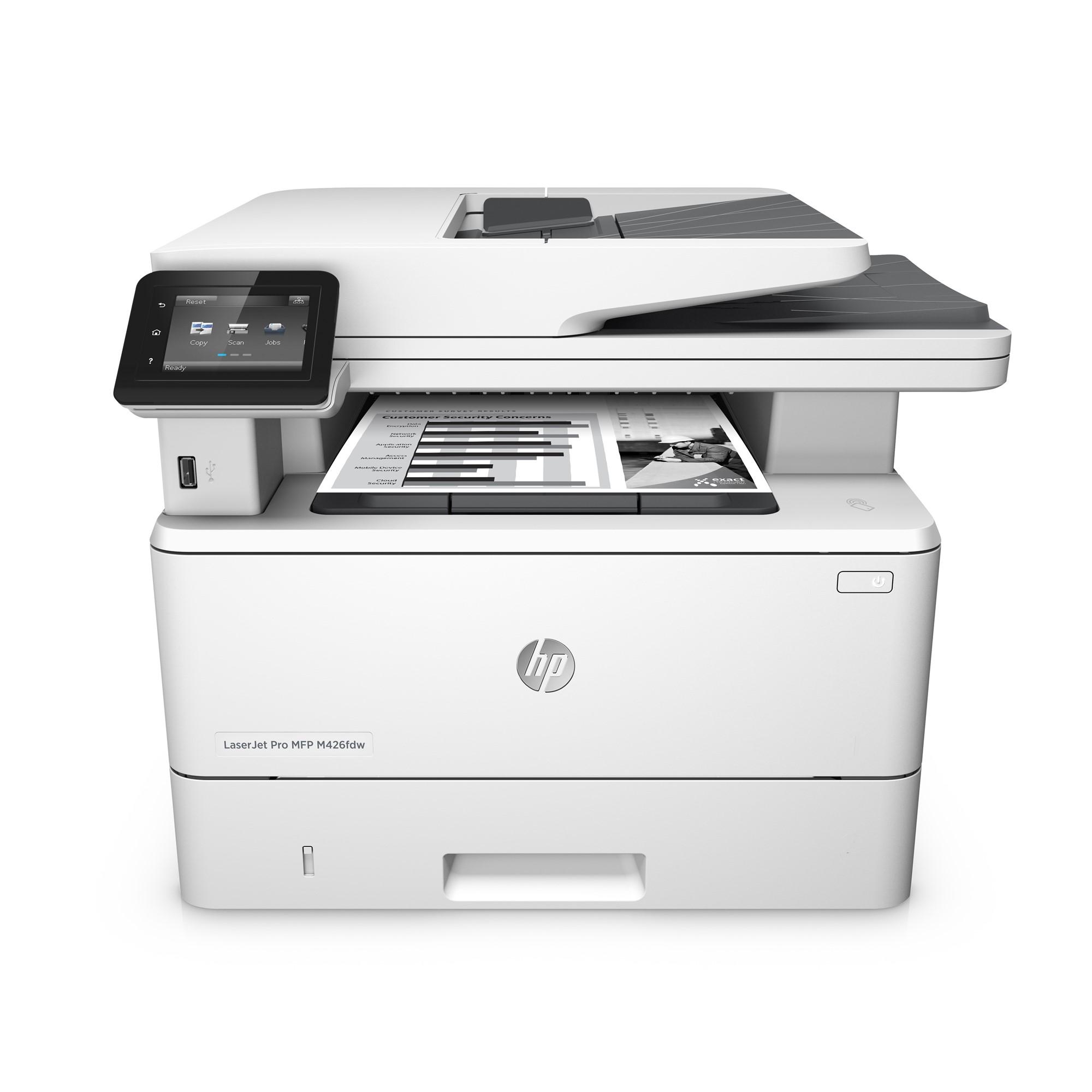 Принтер HP LaserJet Pro MFP M426fdw
