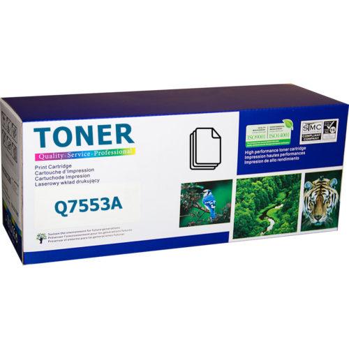HP Q7553A, 53A съвместима тонер касета