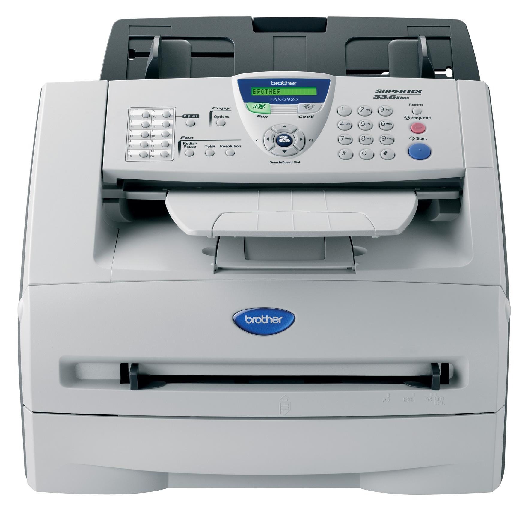 Принтер Brother FAX-2920