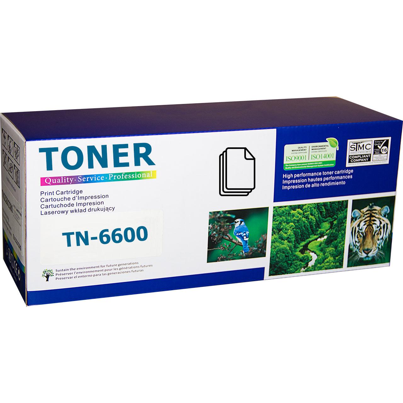 Brother TN-6600 (TN-460) съвместима тонер касета