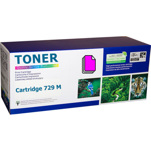 Canon Cartridge 729M Magenta (CRG-729M) съвместима тонер касета