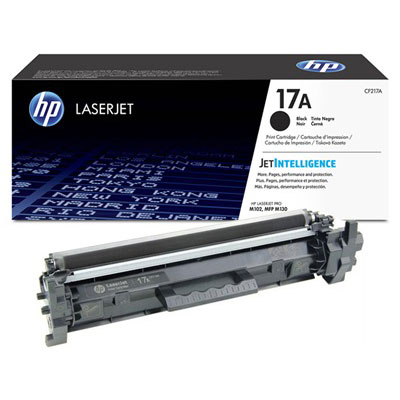 HP CF217A, 17A Genuine Toner Cartridge
