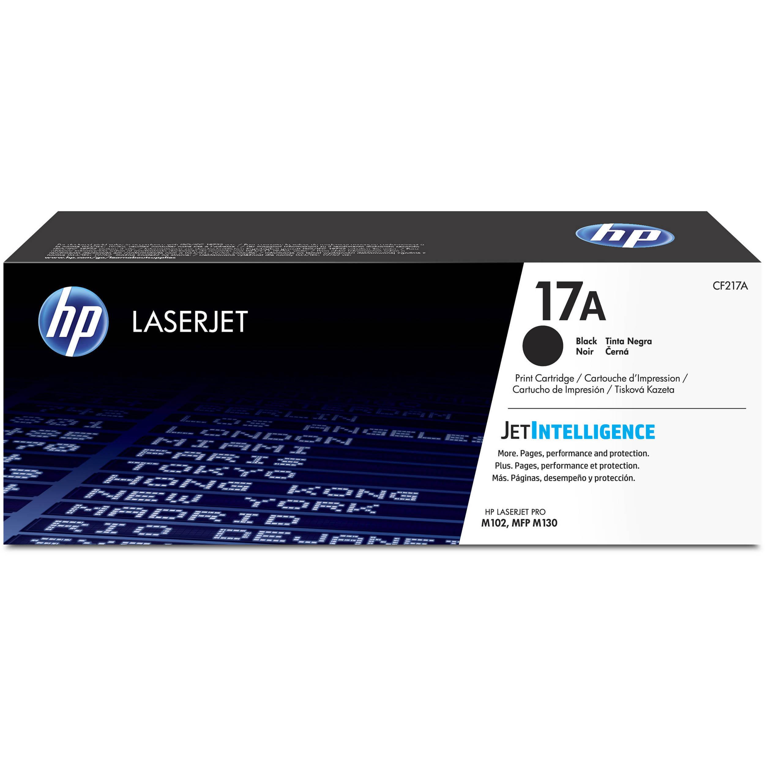 HP CF217A, 17A Genuine Toner Cartridge