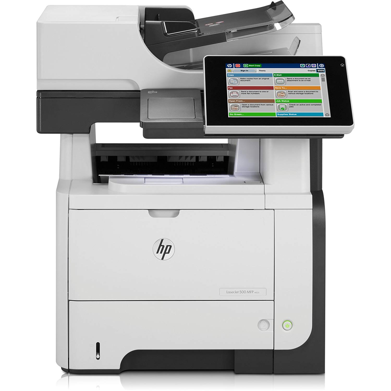 Принтер HP LaserJet Enterprise flow MFP M525c