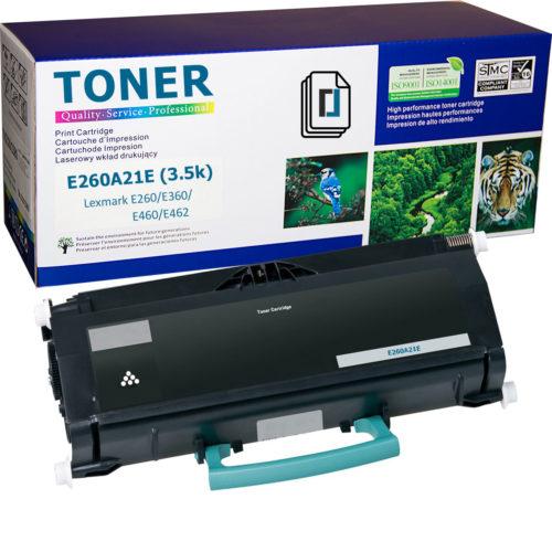 Нова тонер касета E260A21E заместител за Lexmark E460dw