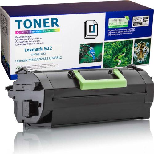 Нова тонер касета заместител Lexmark 522, 52D2000