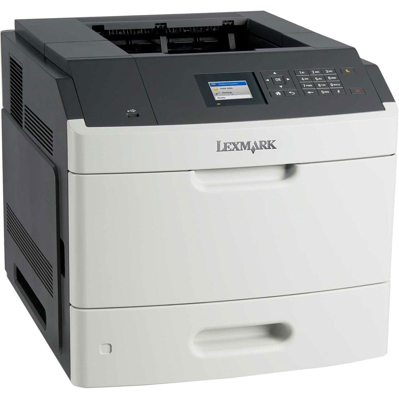 НОВА съвместима тонер касета и барабан за Lexmark MS810dn