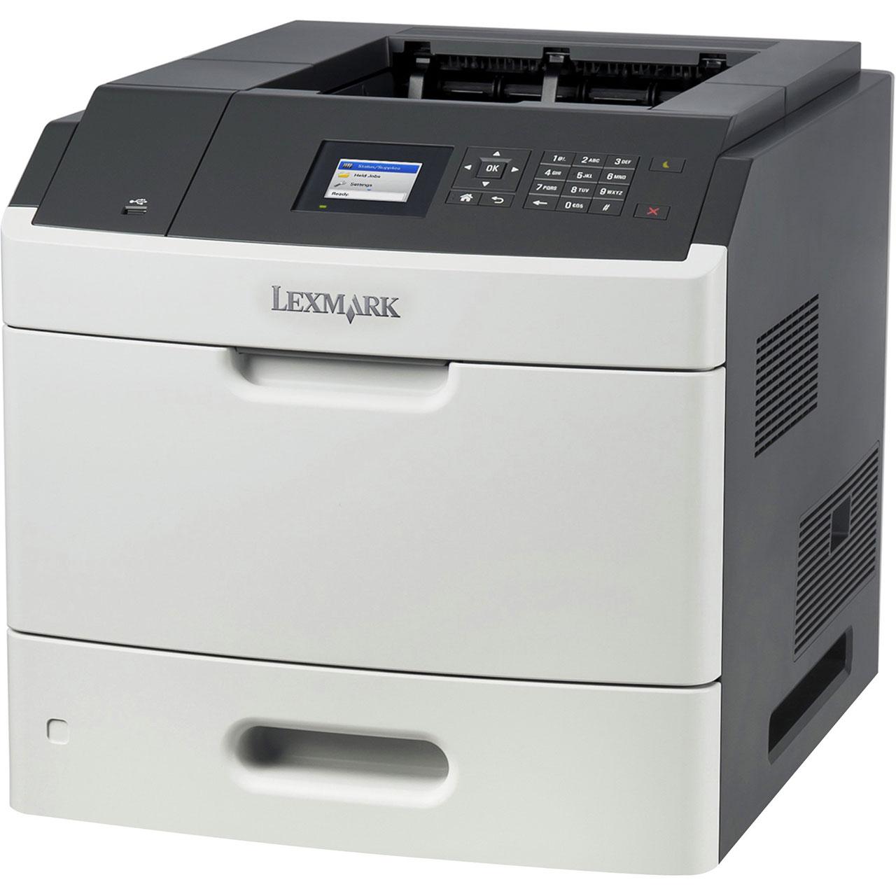 НОВА съвместима тонер касета и барабан за Lexmark MS810n