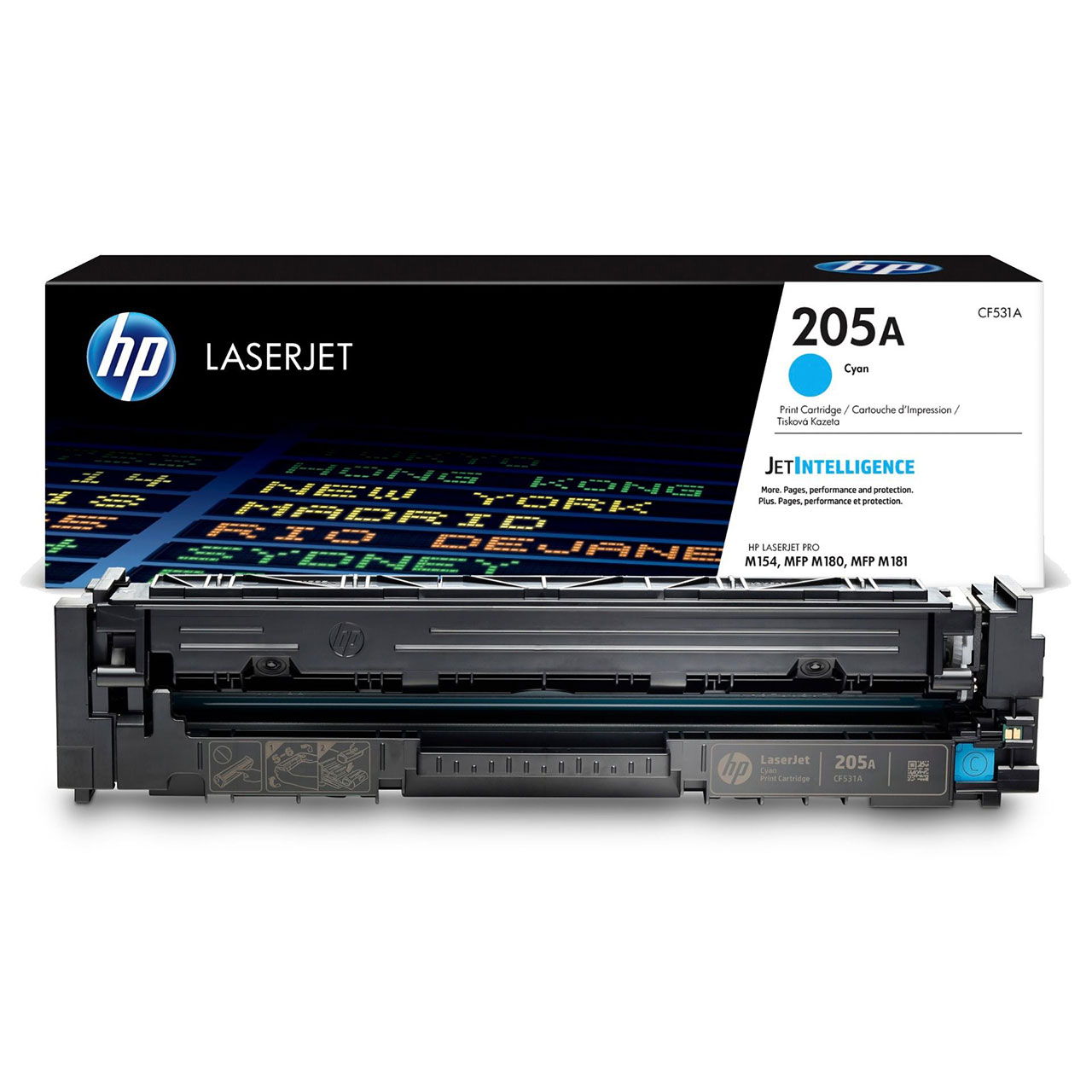 HP 205A Cyan, CF531A Toner Cartridge