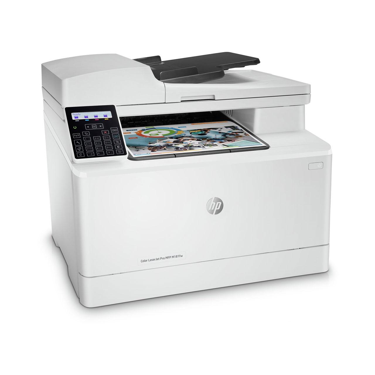 HP Color LaserJet Pro MFP M181fw toner