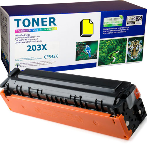 HP 203X Yellow, CF542X Toner Cartridge