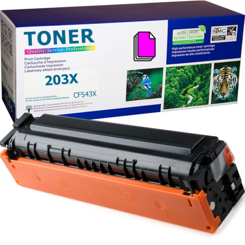 HP 203X Magenta, CF543X Toner Cartridge