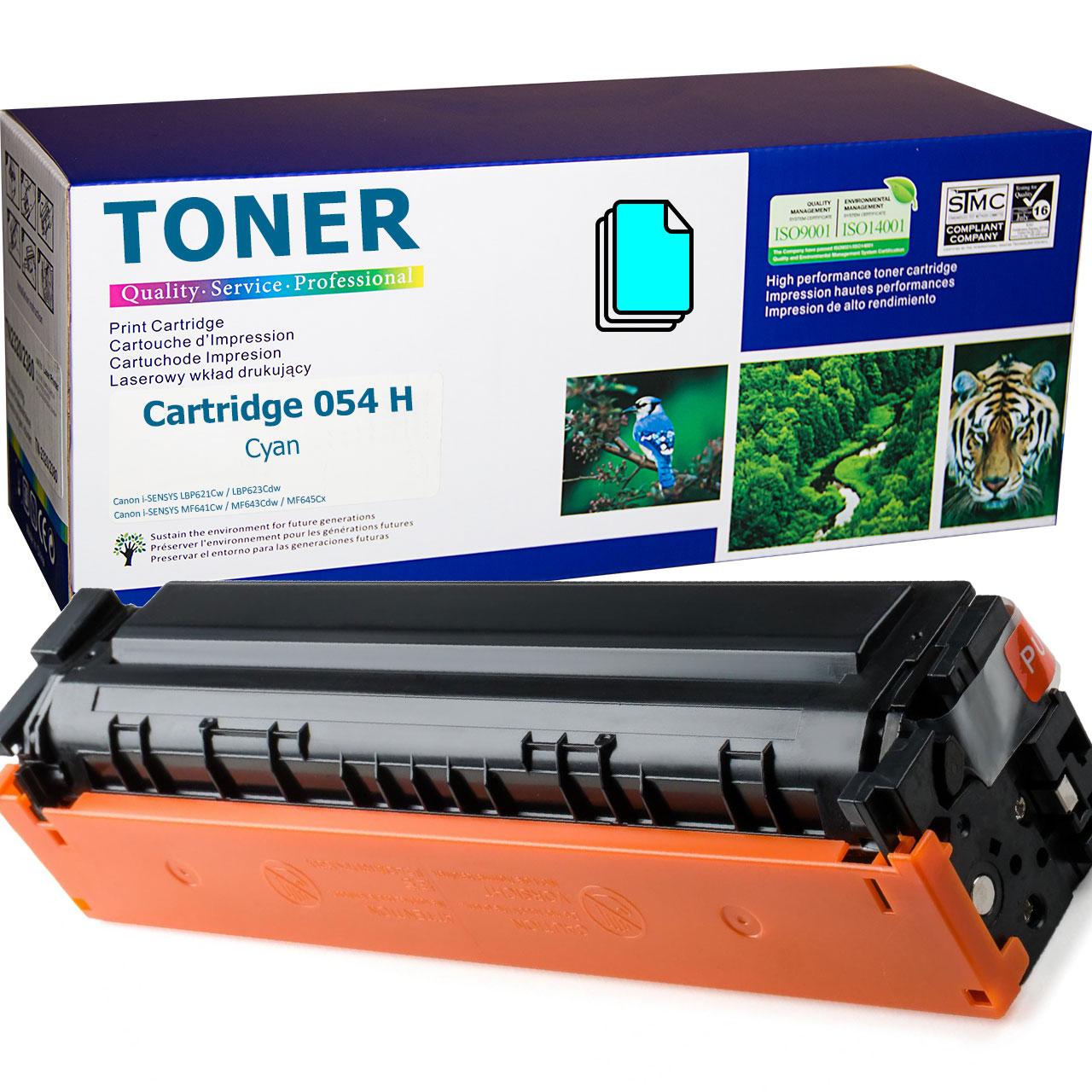 Canon Cartridge 054 H Cyan Toner Cartridge