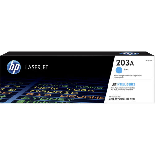 HP 203A Cyan, CF541A Toner Cartridge