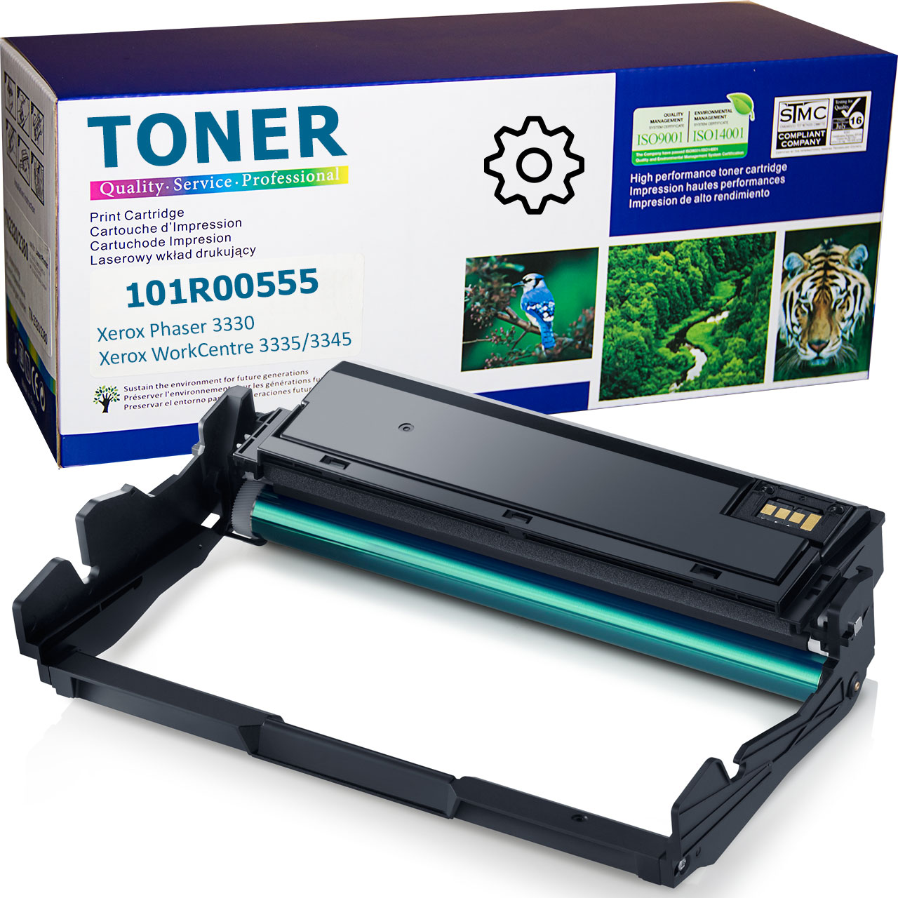 101R00555 Drum Cartridge compatible with Xerox Phaser 3330